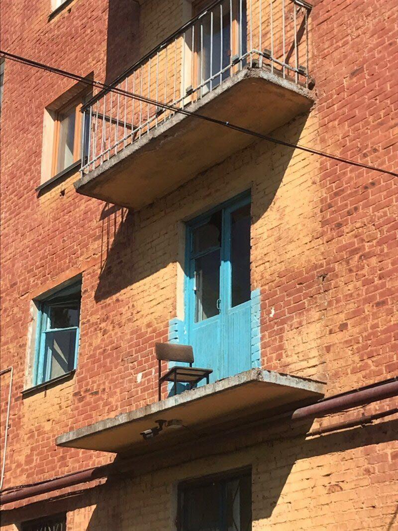 это самые необычные балконы фото завершении создания
