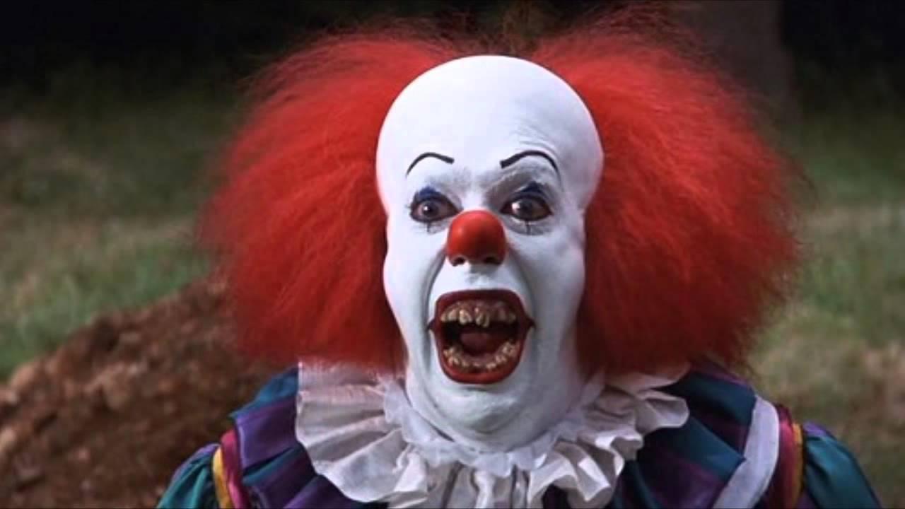 картинки клоунов страшных