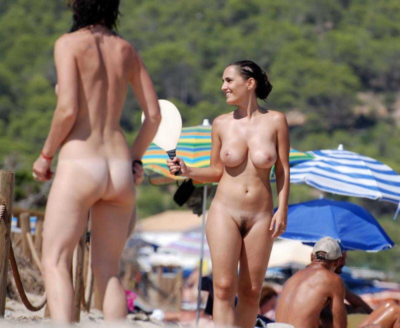 Пляжные ню фото