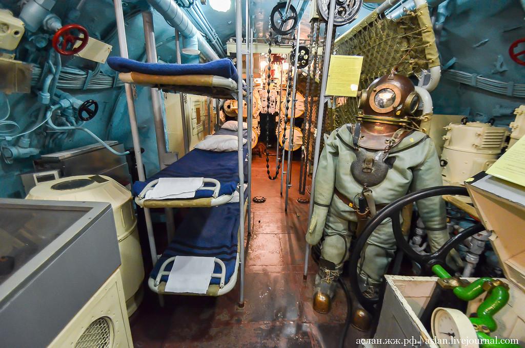 давление на подводной лодке