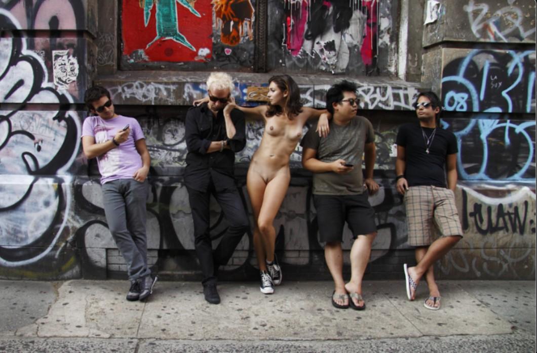 На улицах у чёрных парней опыт нью-йорка имеющему минета