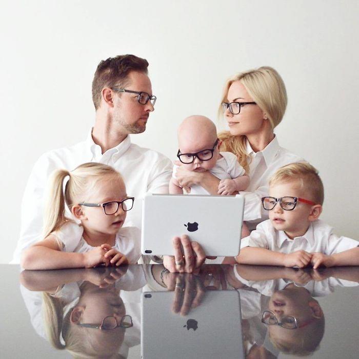 Смешная картинка молодая семья, новым
