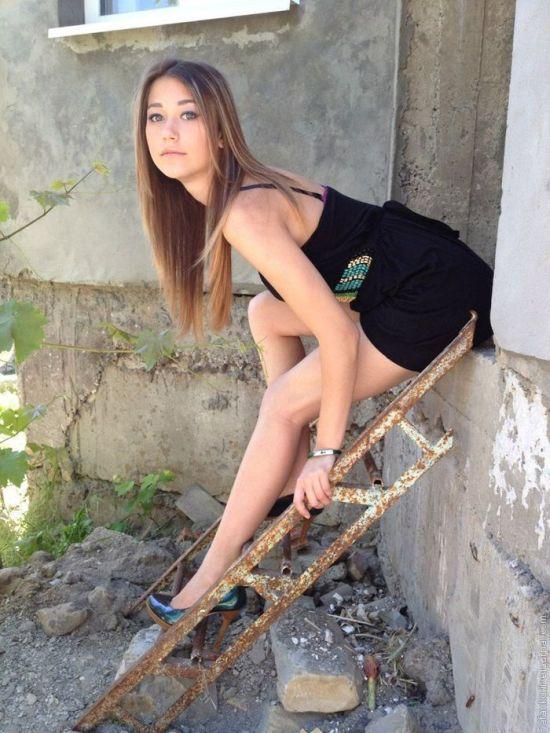 частные фотографии молодых русских женщин