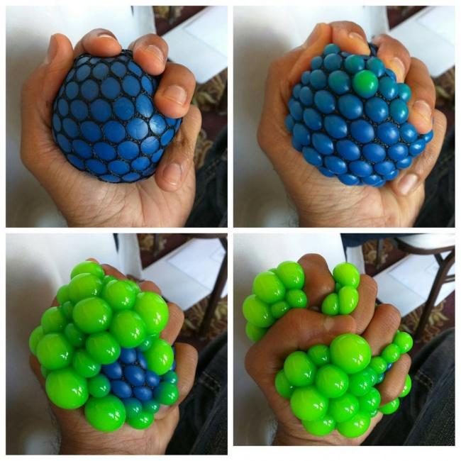 Как сделать антистрессовый шарик