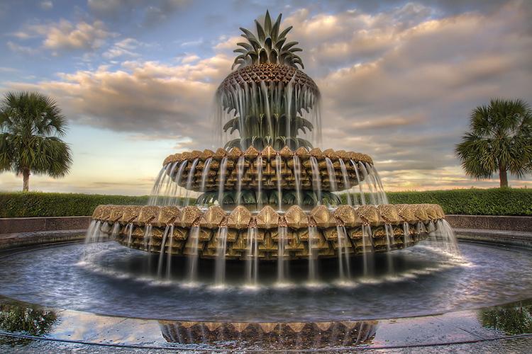 самый картинки необычных фонтанов того