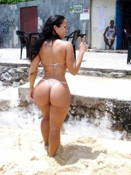 Бразильянка большими попками