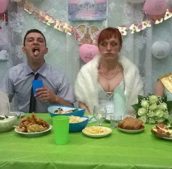 Смешные фото со свадеб в россии