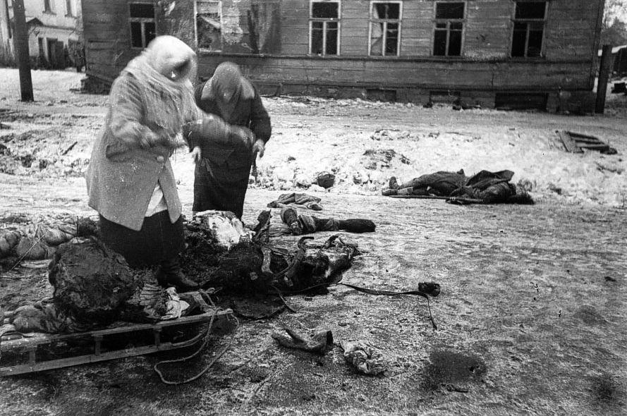 Ленинград во время вов фото