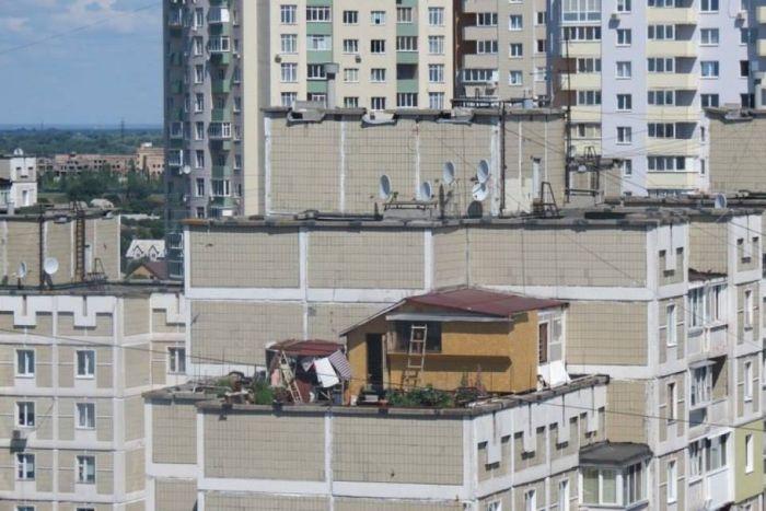 Секс на крышах домов фото 294-536