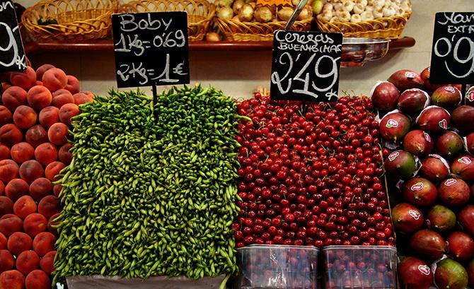 8 самых колоритных продуктовых рынков Европы