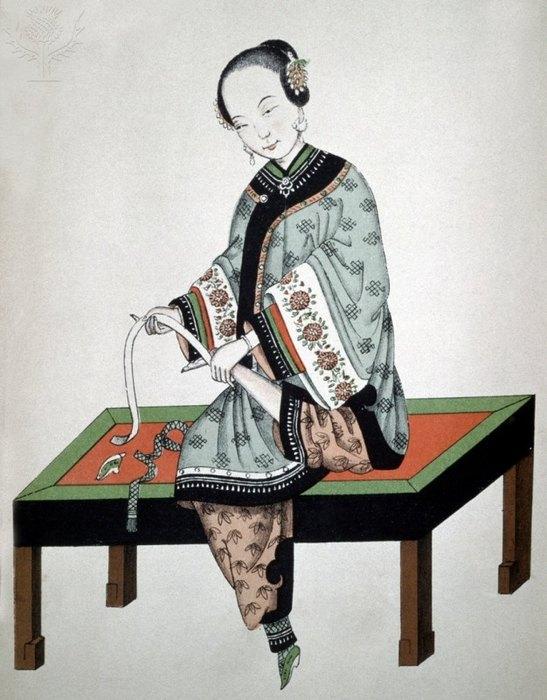 La historia de la costumbre del vendaje a pie en China.