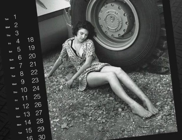 История календаря Pirelli (54 фото)