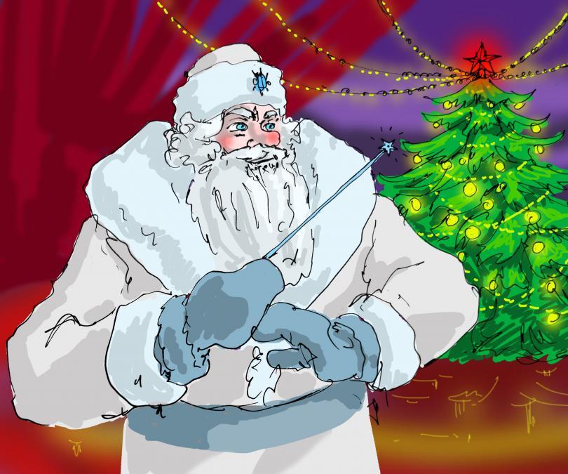 Cambiar la historia de Santa Claus